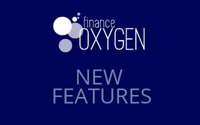 Finance Oxygen New Features