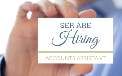 SER are Hiring: Accounts Assistant