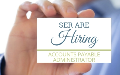 SER are Hiring: Accounts Payable Administrator