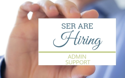 SER are Hiring: Admin Support