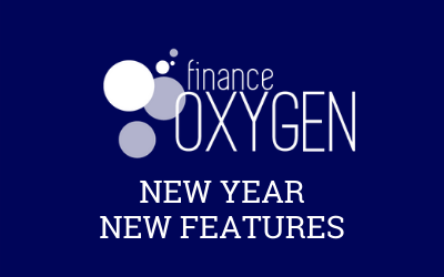 Finance Oxygen, New Year, New Features.