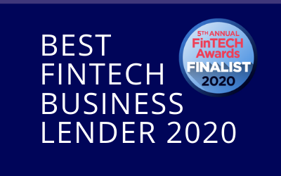 Finalist Best FinTech Business Lender 2020